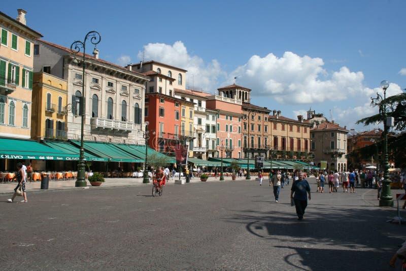 Quadrado de Verona imagem de stock
