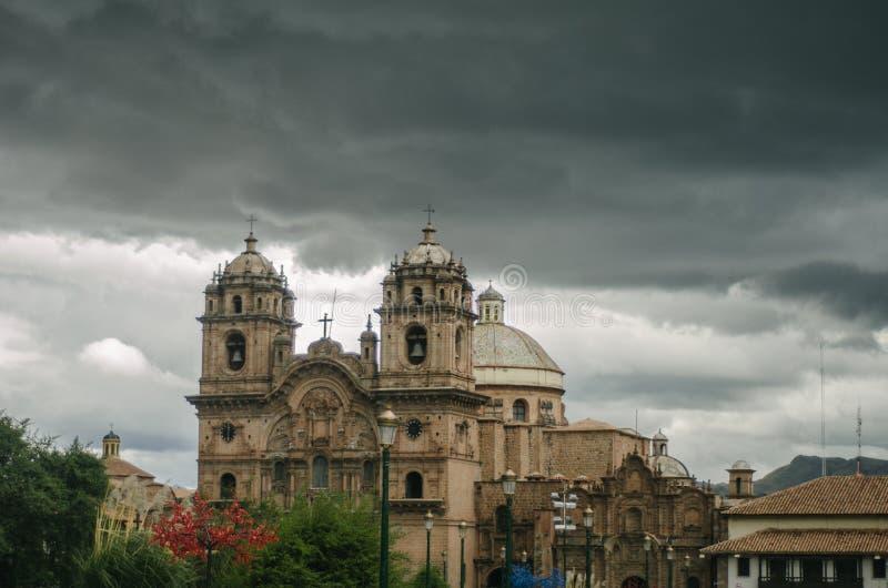 Quadrado do guerreiro, Cusco foto de stock royalty free