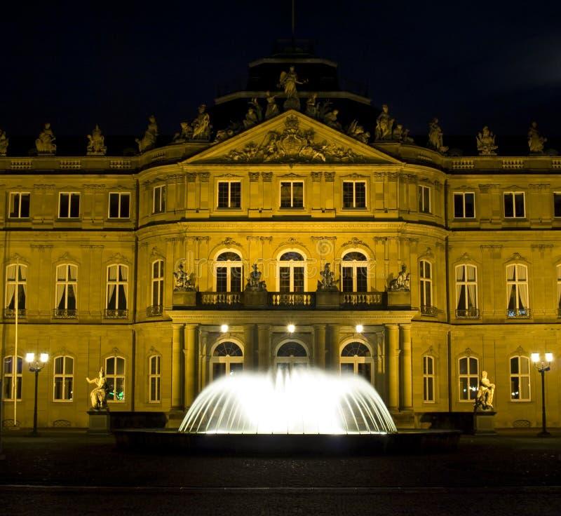 Quadrado do palácio de Estugarda fotografia de stock