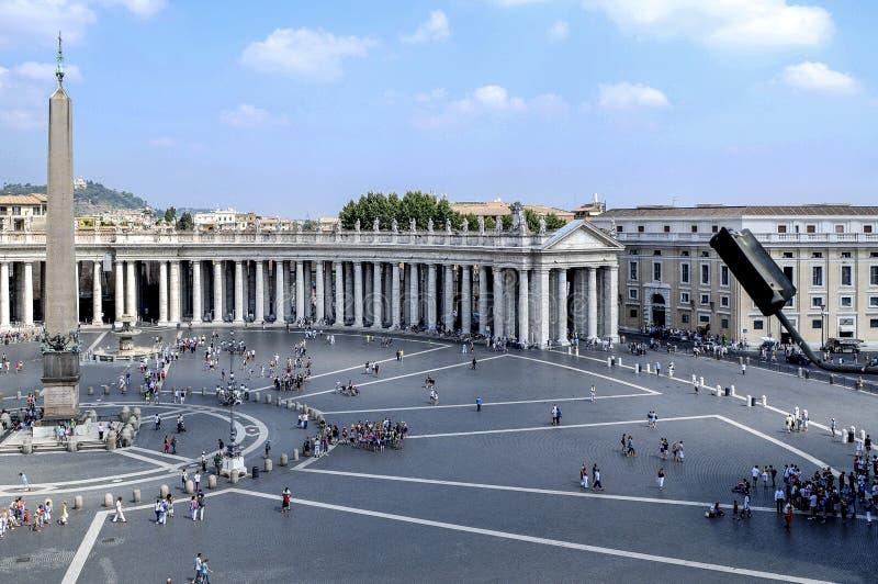 Quadrado do ` s de St Peter, ponto de vista especial imagem de stock royalty free