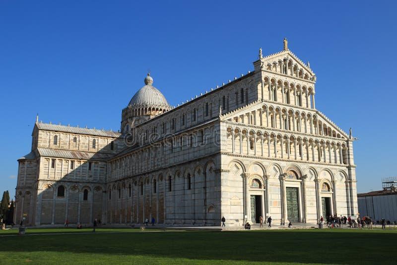 Quadrado dos milagre em Pisa fotografia de stock royalty free