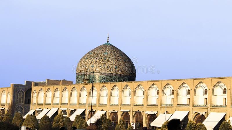 Quadrado H de Isfahan, Irã Naqsh-e Jahan fotografia de stock