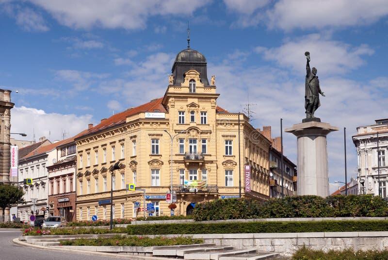 Quadrado mariano, Znojmo, república checa imagens de stock royalty free