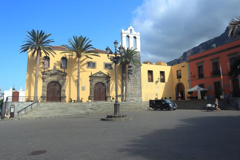Quadrado principal em Garacicho foto de stock royalty free