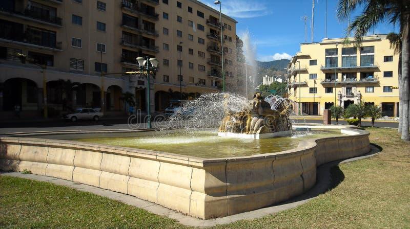 Quadrado suspeitoso do ` de O, ` suspeitoso, EL Silencio da plaza O, Caracas, Venezuela imagem de stock royalty free
