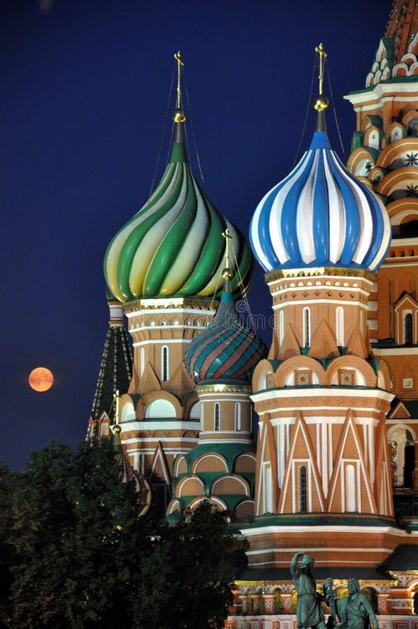 Quadrado vermelho de Moscovo fotos de stock royalty free