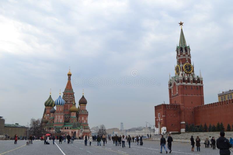 Quadrado vermelho Moscou - Rússia imagem de stock royalty free
