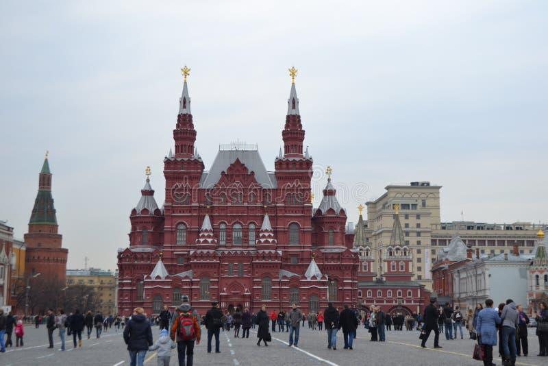 Quadrado vermelho Moscou - Rússia fotos de stock royalty free