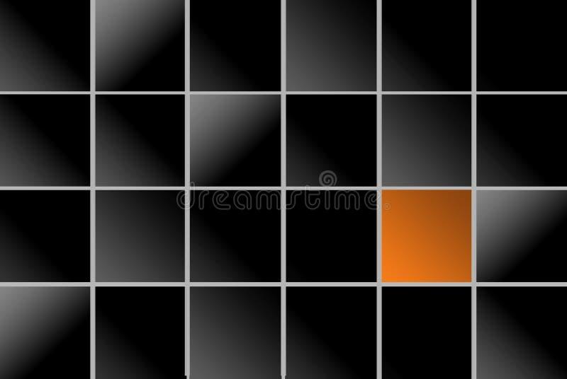 Quadrados ilustração stock