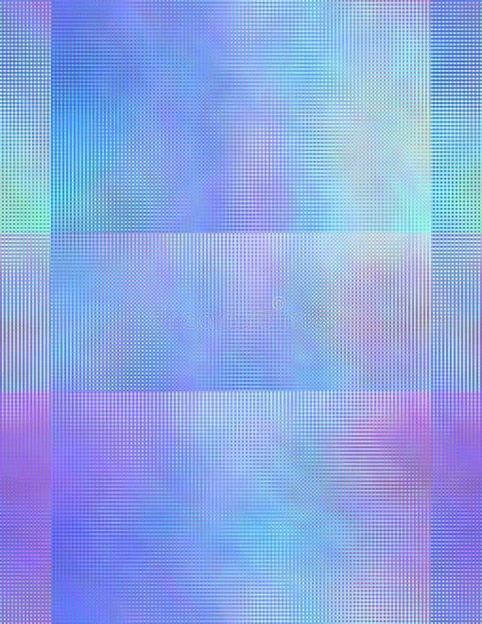 Quadrados bonitos ilustração do vetor