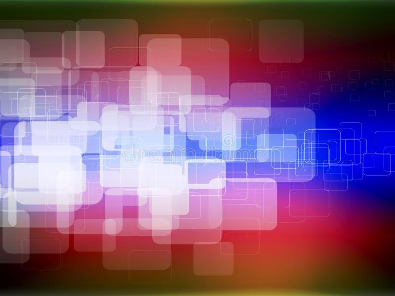 Quadrados da cor imagens de stock