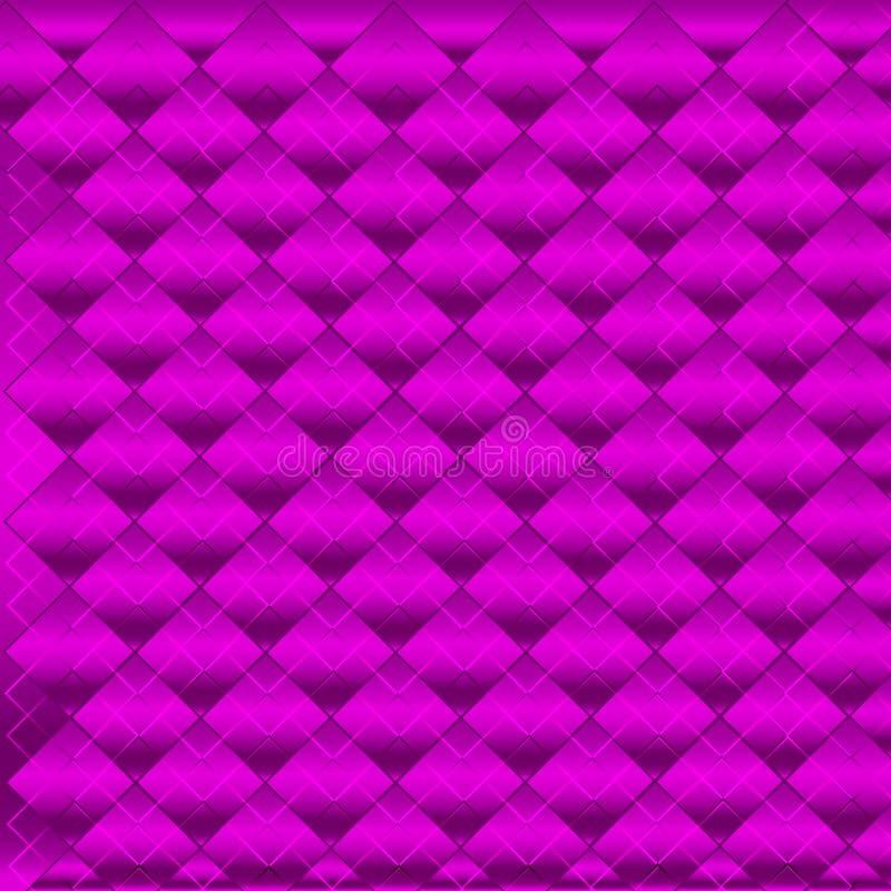 Quadrados do roxo do fundo fotos de stock