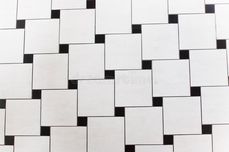 Quadrados preto e branco fotos de stock royalty free