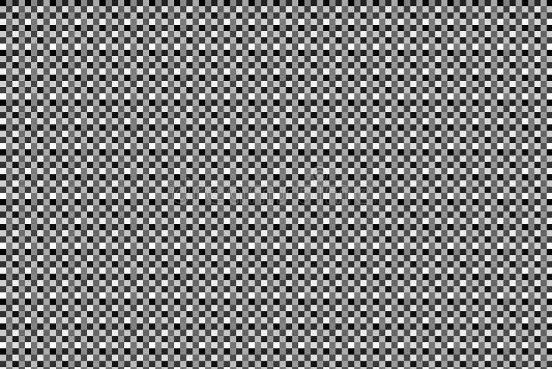 Quadrados pretos, brancos e cinzentos fotos de stock