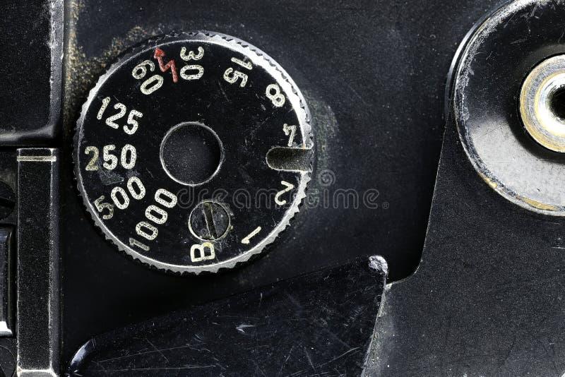 Quadrante di tempo di otturazione fotografia stock libera da diritti