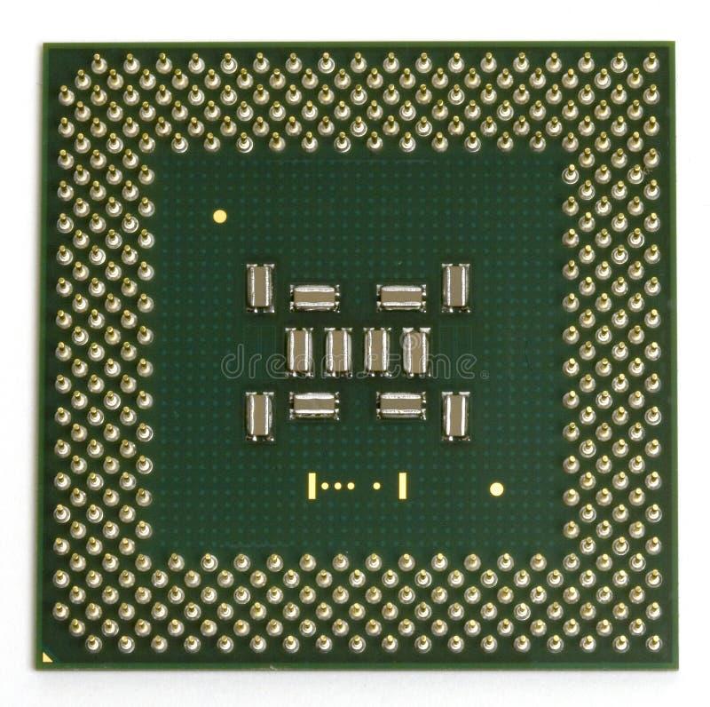 Quadrat CPU lizenzfreies stockbild