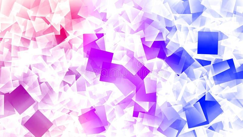 Quadrat-Explosion deckt Hintergrund-Tapete mit Ziegeln lizenzfreie abbildung