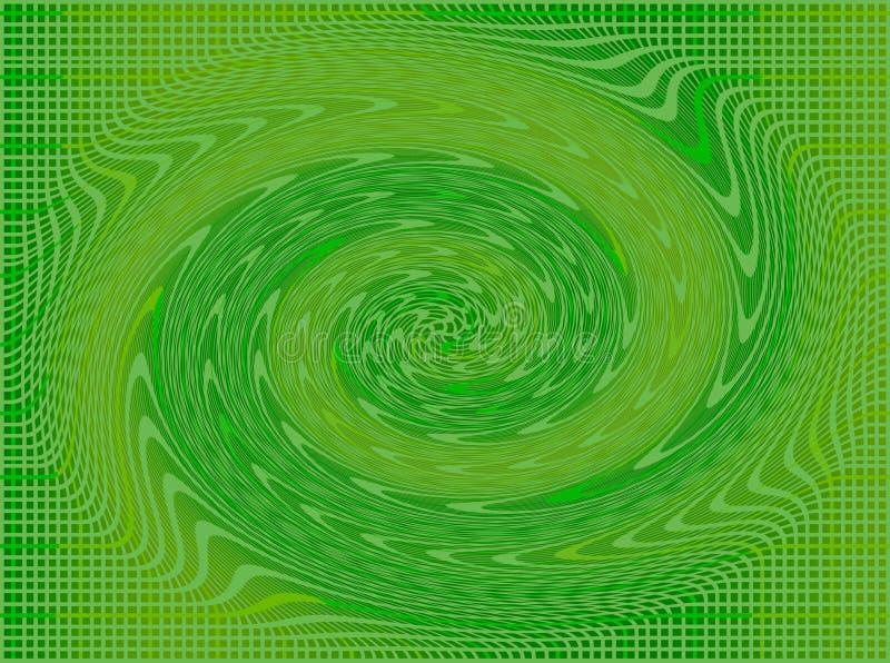 Quadrate und Hebewinde im Grün und im Gelb lizenzfreie stockfotos