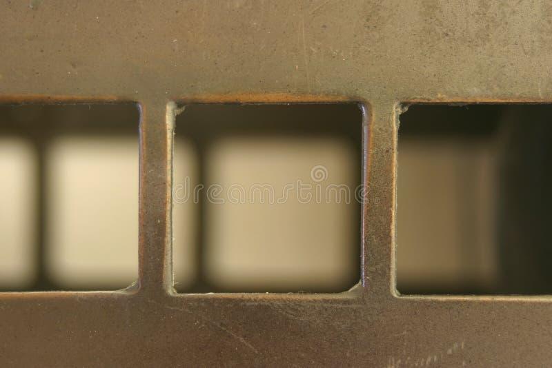 Quadrate und Schatten lizenzfreie stockfotos