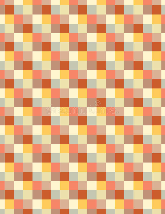 Quadrati colorati morbidezza fotografia stock