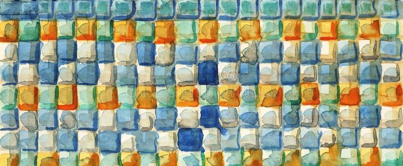 Quadrati di colore. illustrazione vettoriale