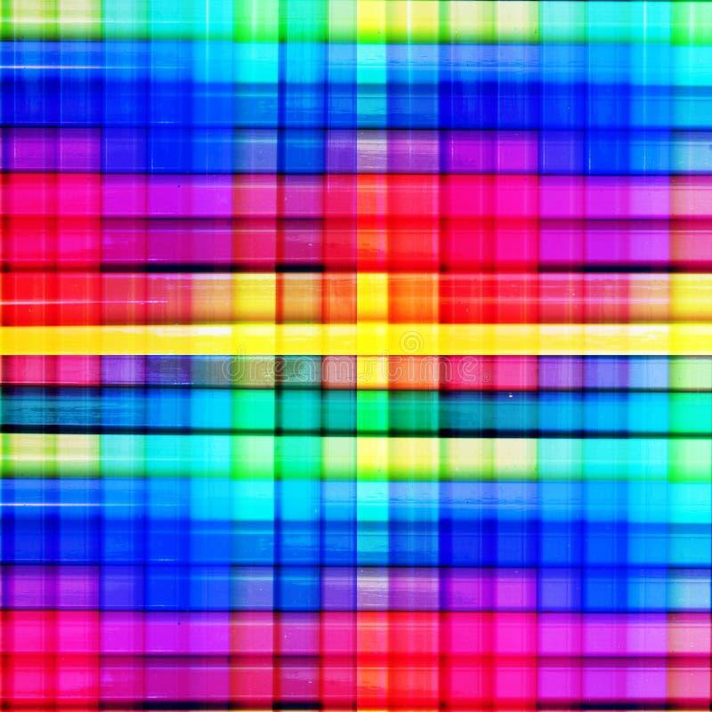 Quadrati variopinti immagini stock