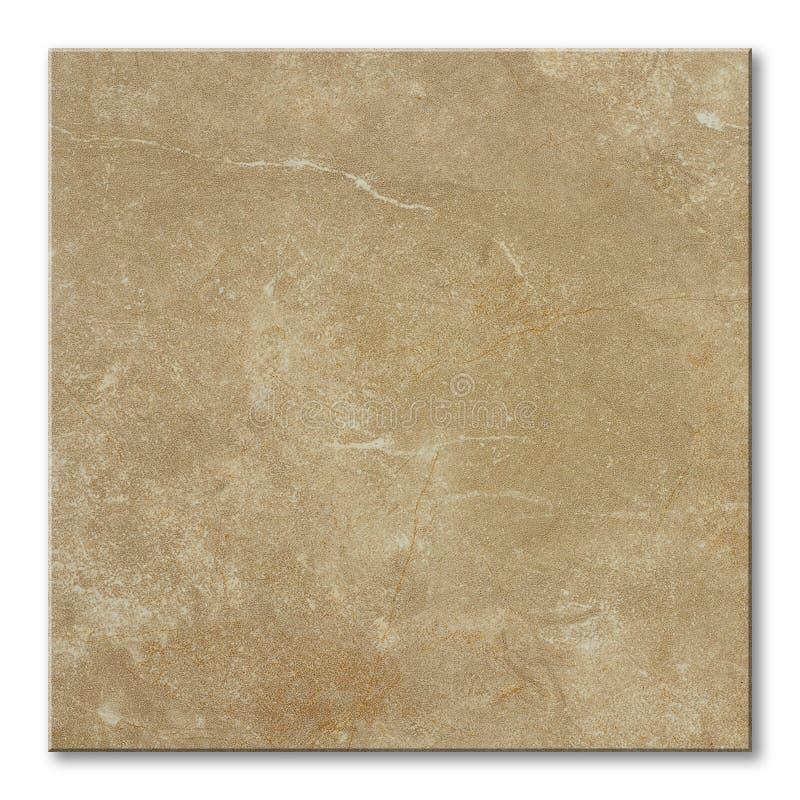 Quadratische Fußbodenfliese stockbild