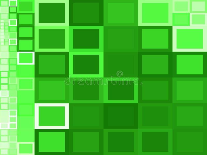 Quadratische Hintergründe lizenzfreie abbildung