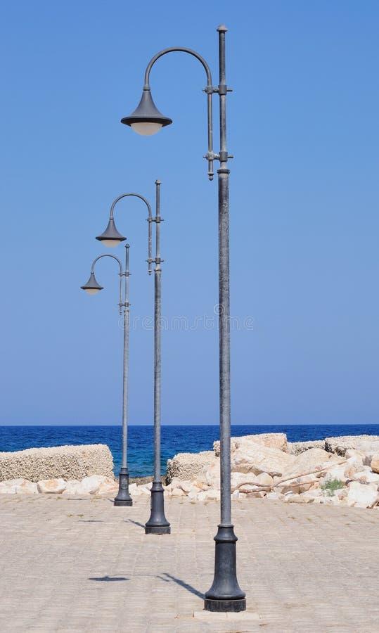 Quadratische Lampen lizenzfreies stockfoto