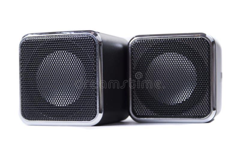 Download Quadratische Lautsprecher stockfoto. Bild von persönlich - 27733656