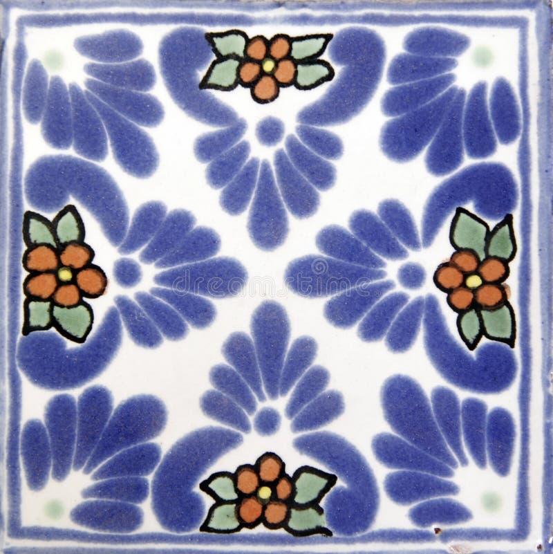 Quadratische mexikanische Flieseform lizenzfreies stockbild