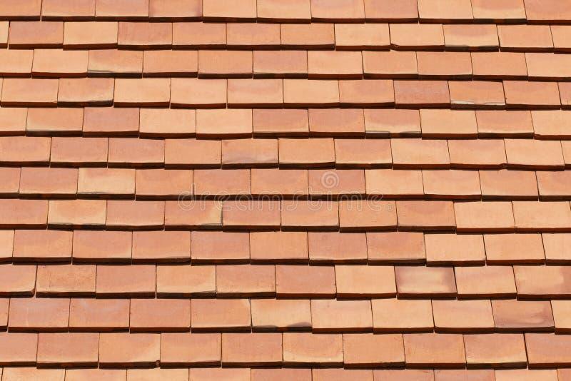 Quadratische orange Dachplatte für Muster lizenzfreie stockfotografie
