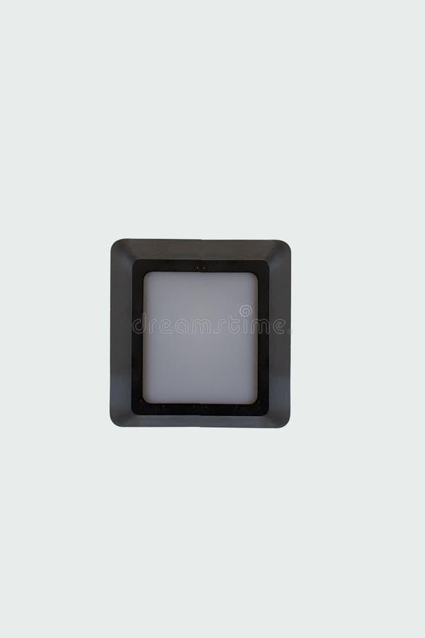 Quadratisches Licht im Freien lizenzfreie stockfotos