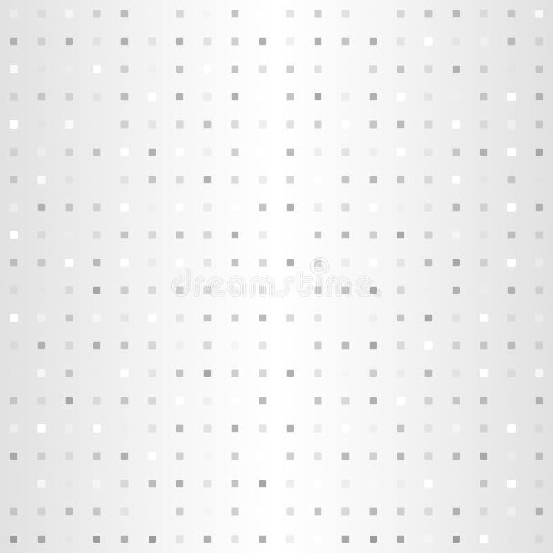 Quadratisches Muster der Steigung Nahtloser vektorhintergrund lizenzfreie abbildung
