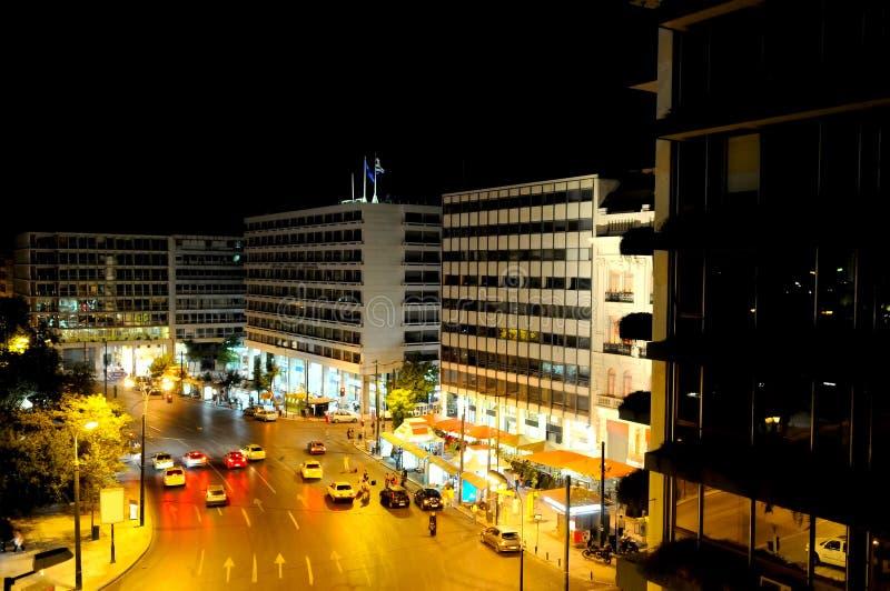 Quadrato a Atene, Grecia fotografia stock libera da diritti