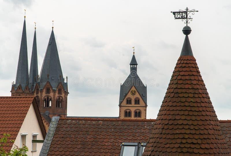 Quadrato Cenrum di Città Vecchia dei monumenti storici della Germania della Baviera di Città Vecchia fotografia stock