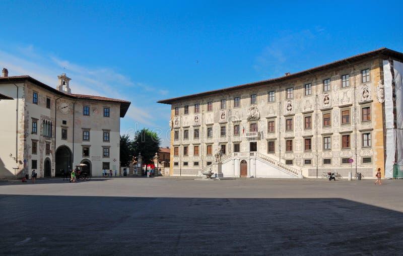 Quadrato dei cavalieri (Pisa) fotografia stock libera da diritti