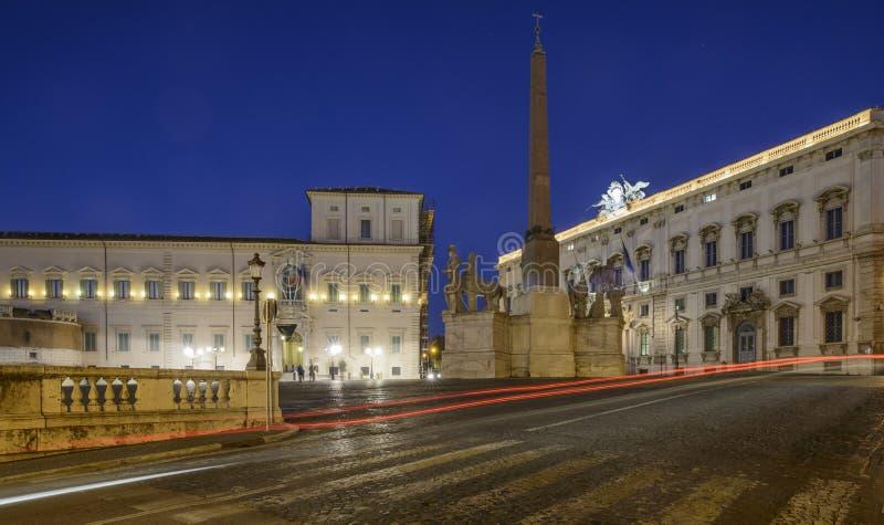 Quadrato del quirinal Roma Italia Europa fotografie stock