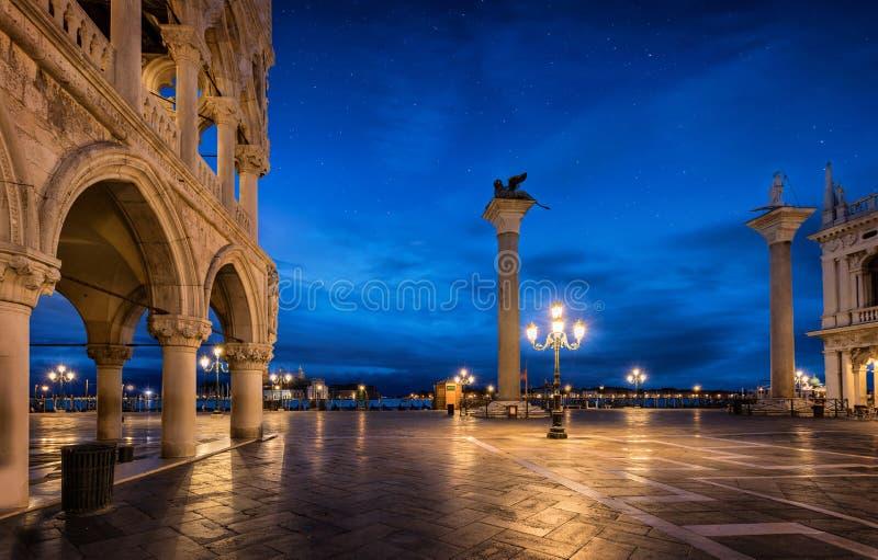 Quadrato del ` s di St Mark a Venezia, Italia immagini stock