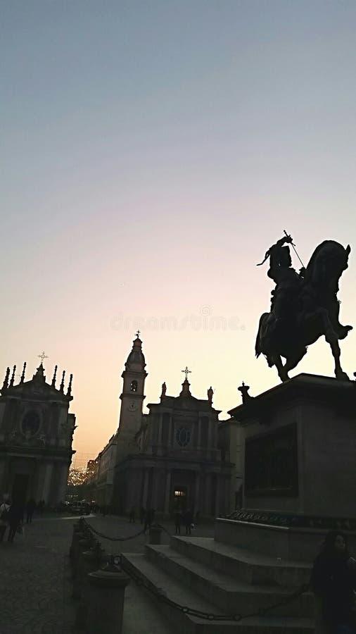 Quadrato del San Carlo fotografia stock libera da diritti