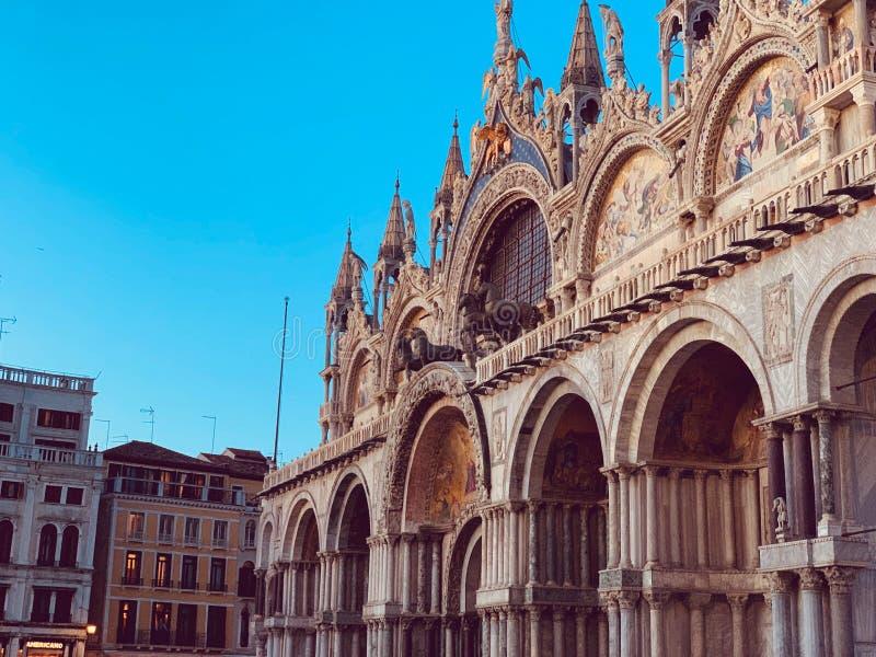 Quadrato del San Marco a Venezia, Italia fotografie stock