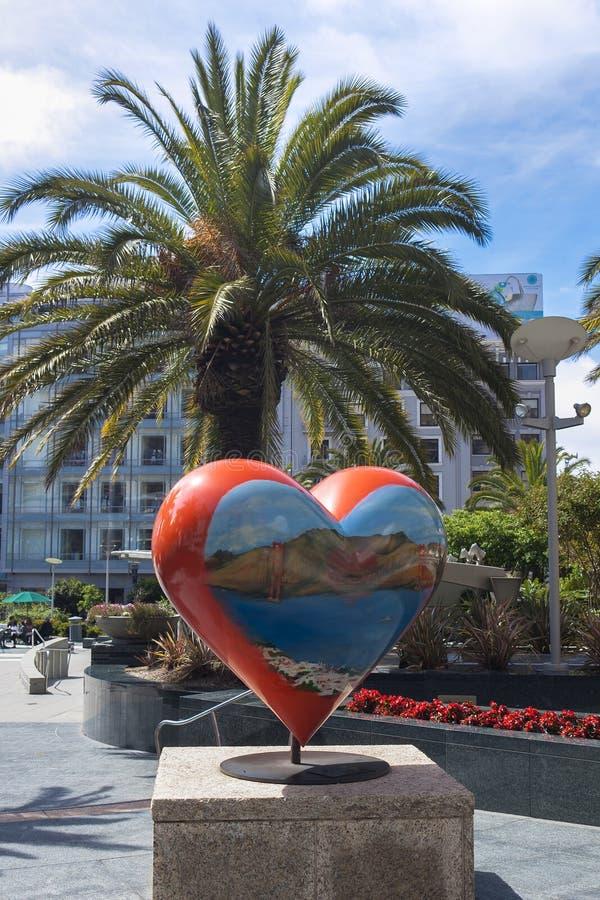 Quadrato del sindacato a San Francisco fotografia stock libera da diritti