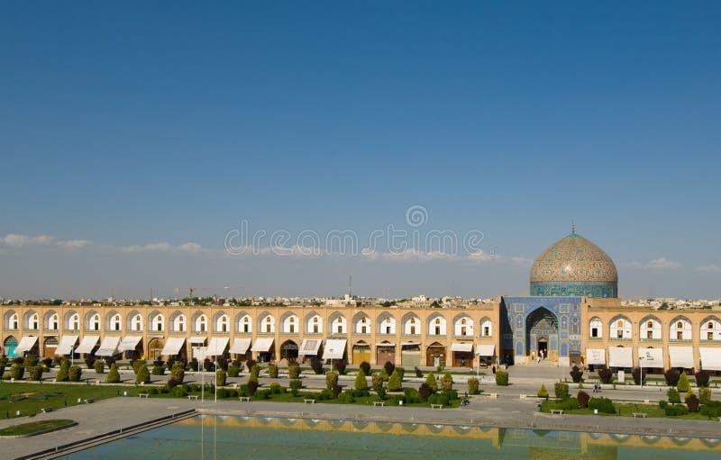 Quadrato dell'imam, Ispahan, Iran immagine stock libera da diritti