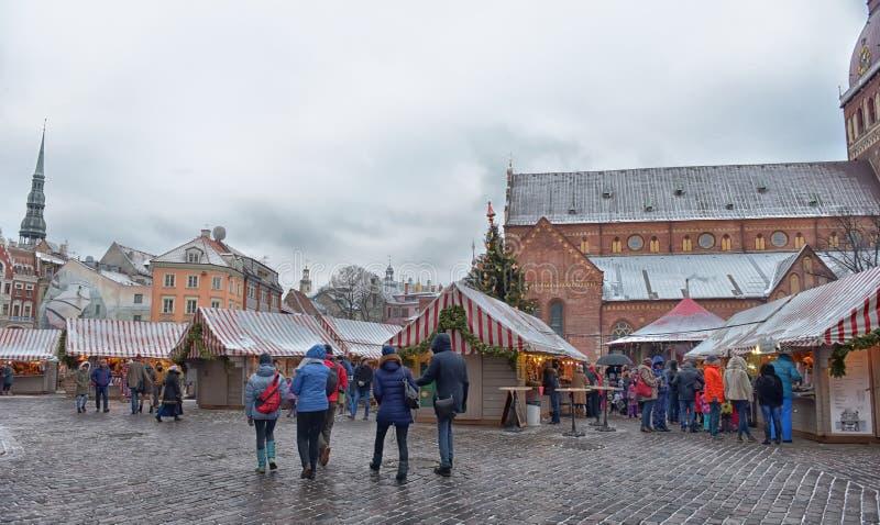 Quadrato della cupola al Natale immagine stock libera da diritti