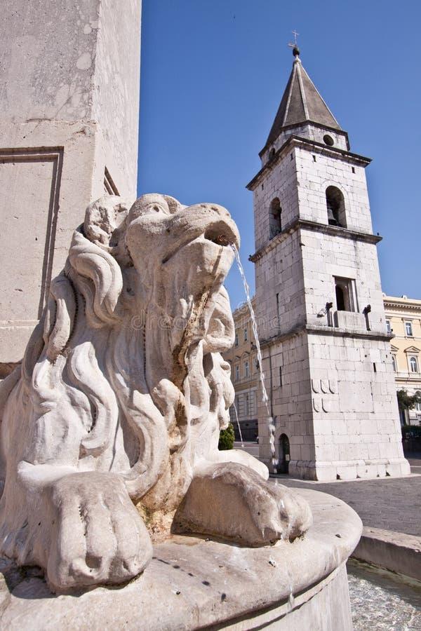 Quadrato di Benevento immagini stock libere da diritti