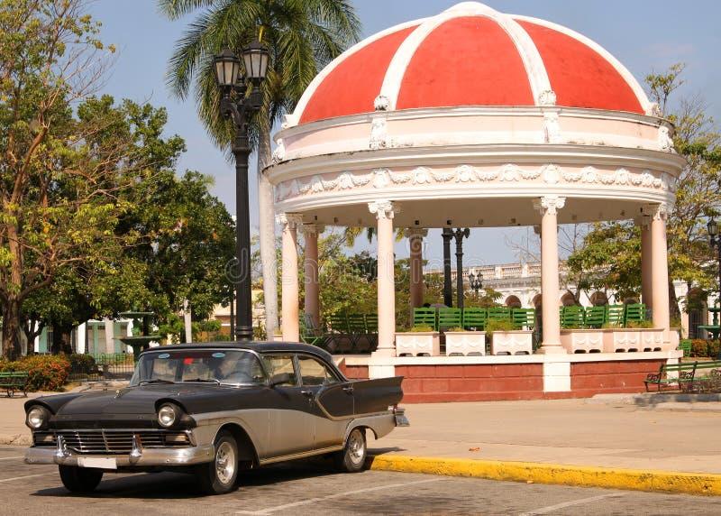 Quadrato di Cienfuegos, Cuba fotografia stock