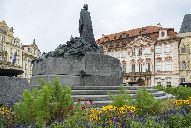 Quadrato di Città Vecchia, Praga, repubblica Ceca immagine stock libera da diritti