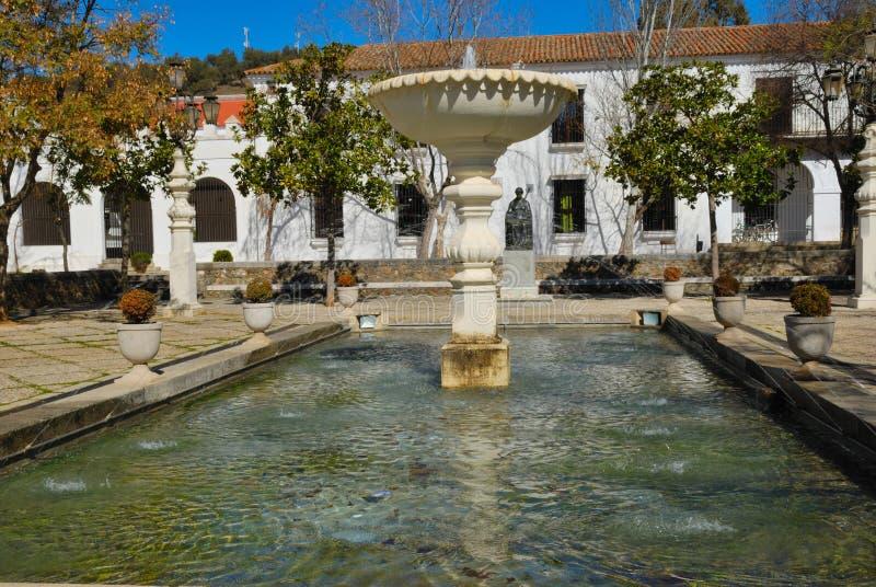 Quadrato di Doña Elviria fotografia stock
