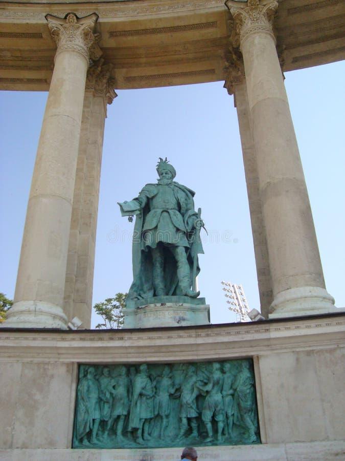 Quadrato di eroi, Budapest fotografia stock