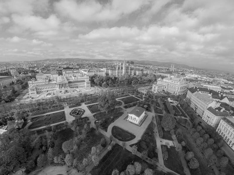 Quadrato di eroi a Vienna fotografia stock libera da diritti